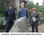 Val, John and Guy at Dewstow