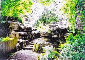 5-10-23-01 - Belper Parklands Pulhamite in Gardens
