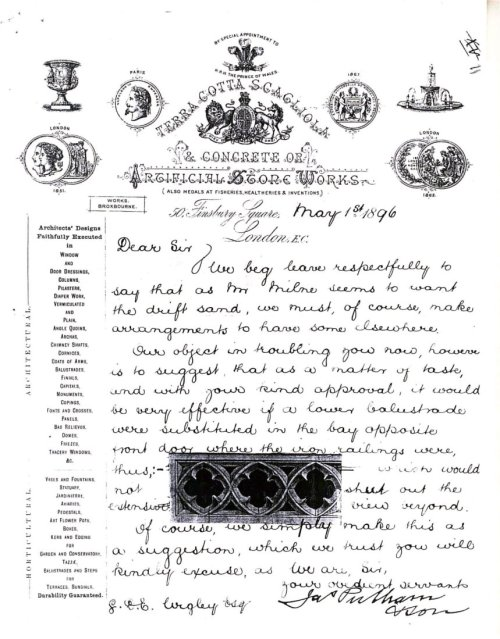 5-10-30-1 - Knebworth House Letter