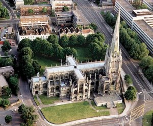 5-10-32-01- St Mary Redcliffe  JP from air
