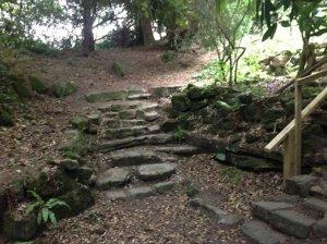 5-10-41-11 - Lamberhurst - Rock Garden Steps 2