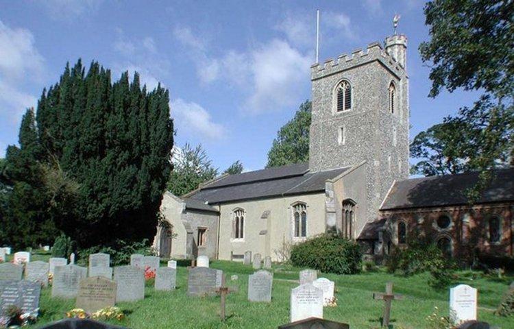 5-1-43-03 - Weston, Church of Holy Trinity Exterior