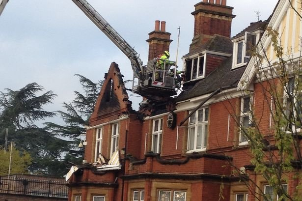 150411 - Ewell Court House Fire
