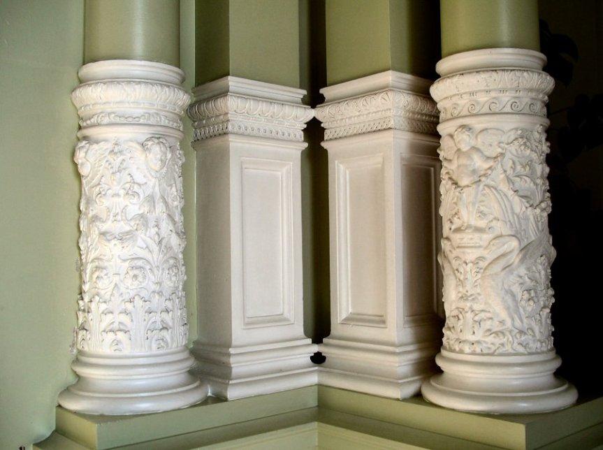 5-10-48-03 - Halton House - Winter Garden - Pillars