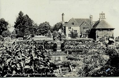 5-1-60-02 - Dutton Homestall Formal Garden c1920