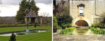 170808 - Abbotswood - Sunken Garden and Tank Garden