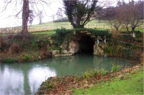 170811 - Dumbleton Hall - Boat Cave - Gay Chamberlayne