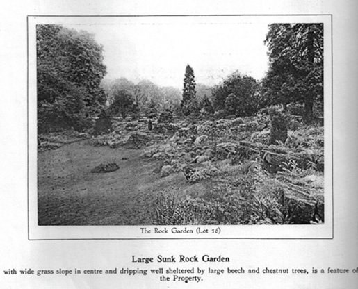 5-20-62-05 - Rock Garden to South in 1937 Sale Catalogue